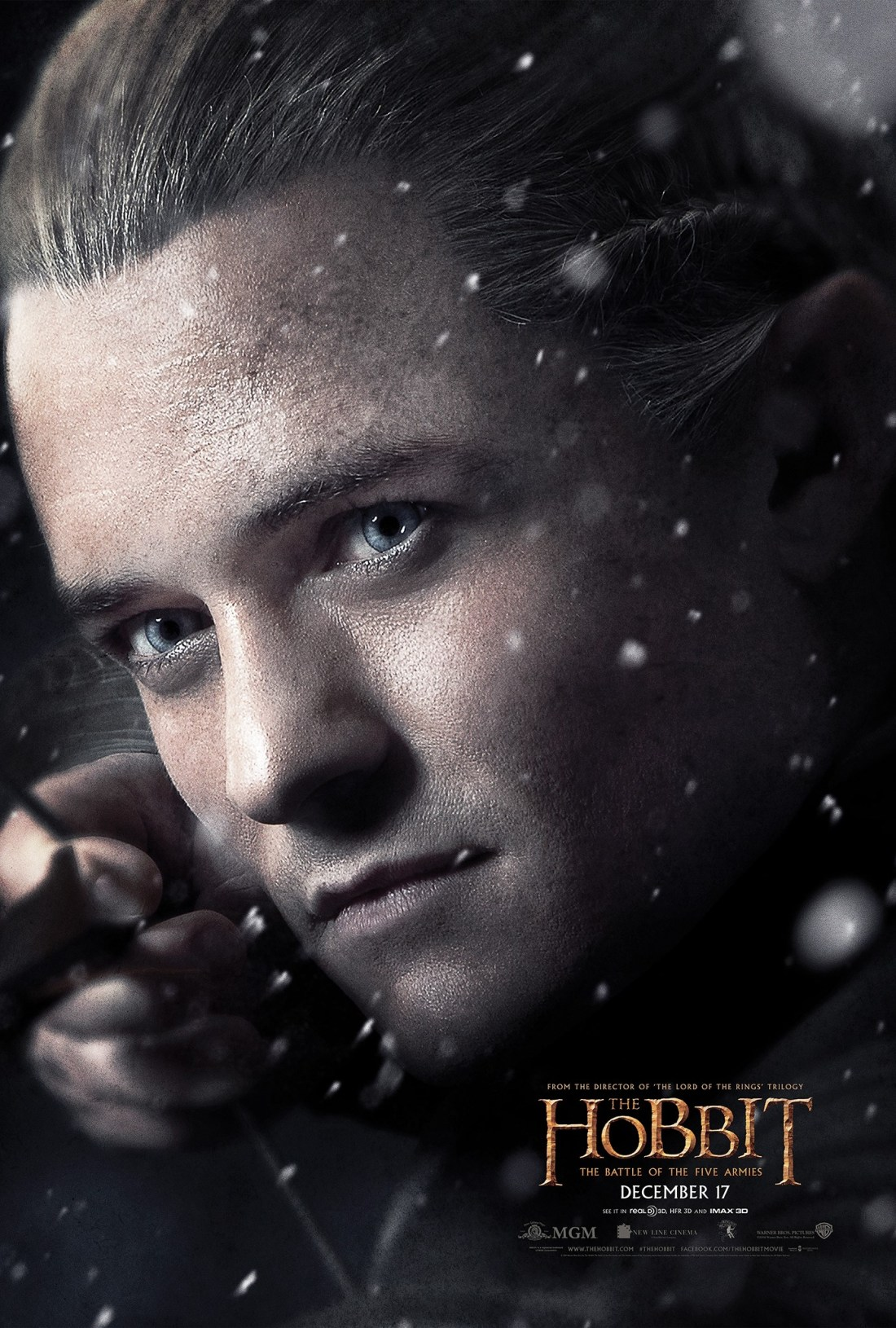 Legolas - The Hobbit: The Battle of the Five Armies Poster