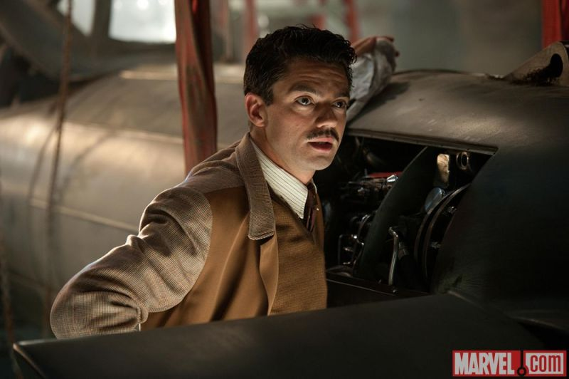 Dominic Cooper as Howard Stark Returning for Agent Carter