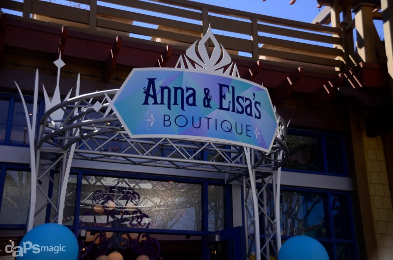 Anna & Elsa's Boutique Opens in Downtown Disney at the Disneyland Resort