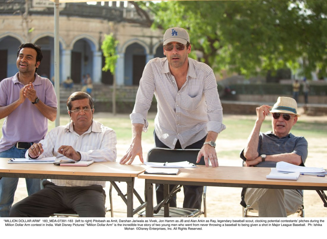 Million Dollar Arm - Scouting in India