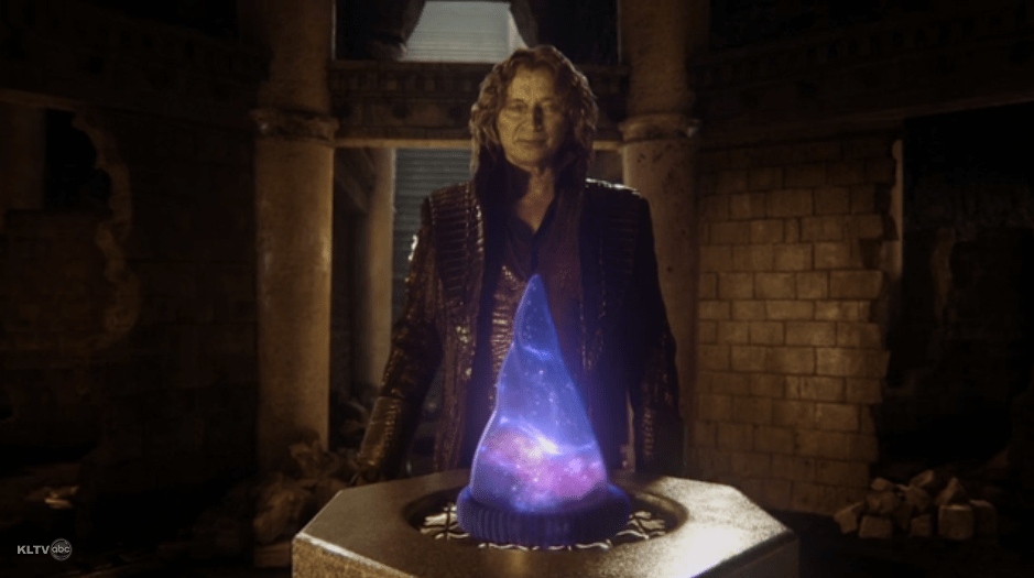 rumple with sorcerers hat