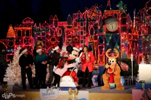 Its a Small World Lighting Ceremony - Disneyland Resort Holiday Time
