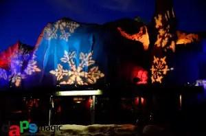 Calico Mine lit up