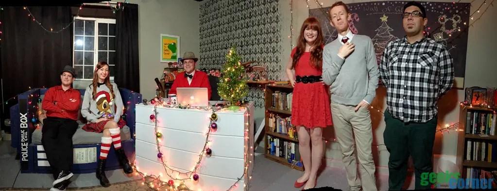 A Musical Magical Geeks Corner Christmas Special – Geeks Corner – Episode 412