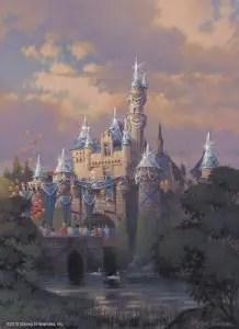 Sleeping Beauty Castle - Disneyland Diamond Celebration - Artist's Rendering
