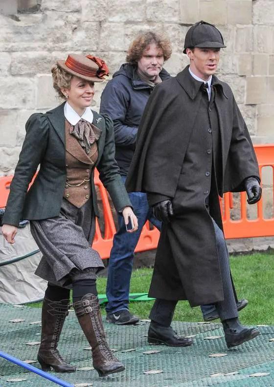 Mary Watson and Sherlock Holmes - Sherlock Christmas Special