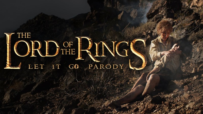 The Lord of the Rings Let it Go Parody