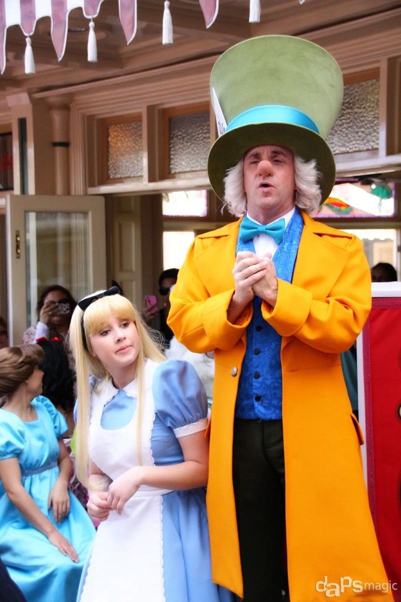 Caption of the Week #1 - Alice and the Mad Hatter