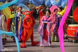 Disneyland Resort - Happy Lunar New Year Procession - February 19, 2015-127