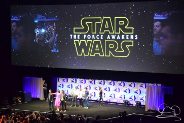 Star Wars The Force Awakens Panel Star Wars Celebration Anaheim-39