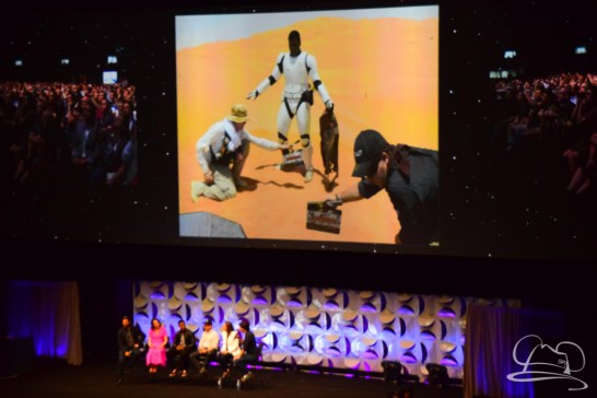 Star Wars The Force Awakens Panel Star Wars Celebration Anaheim-43