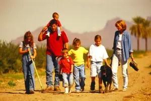 family walking CMYK