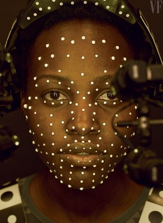 Star Wars: The Force Awakens - Lupita Nyong'o Motion Capture as Maz Kanata