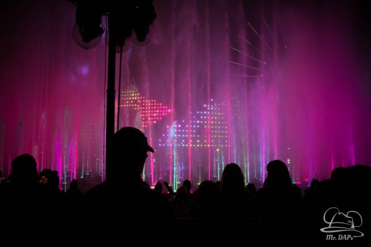 Disneyland 60th Anniversary Celebration World of Color - Celebrate-154