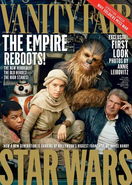 Star Wars: The Force Awakens - Vanity Fair Cover