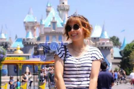 Jessica Prell at Disneyland