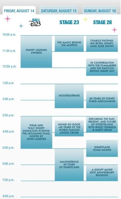2015 D23 Expo Schedule (1)