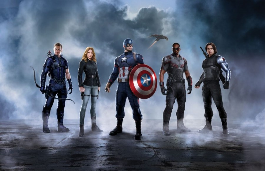 Team Captain America - Captain America: Civil War