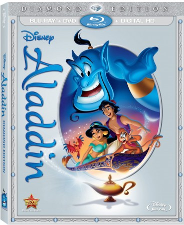 Aladdin Diamond Edition Blu-Ray