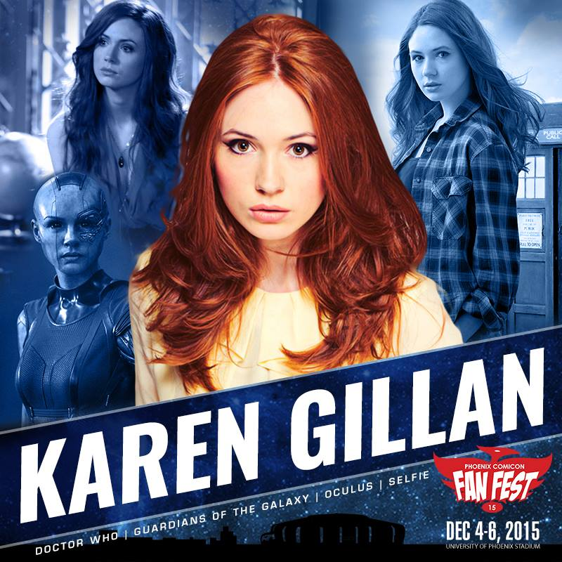 Karen Gillan Coming to Phoenix Comicon Fan Fest!