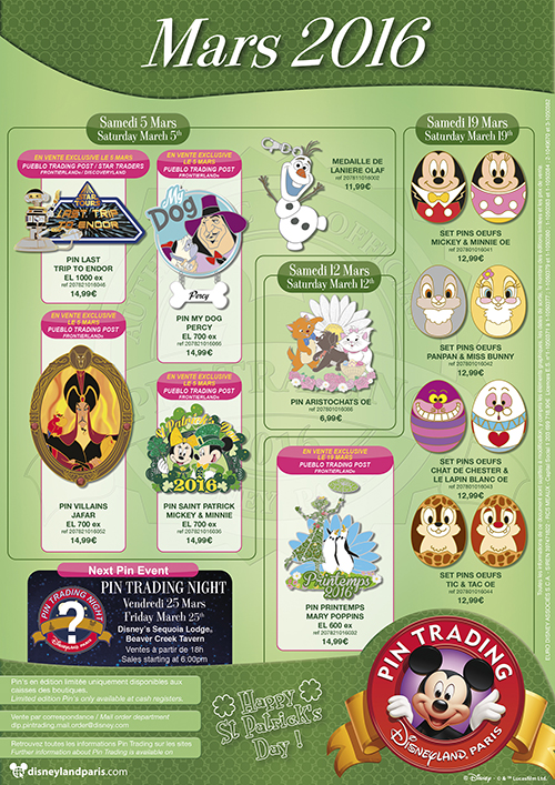 Disney Parks Pins_March (2)