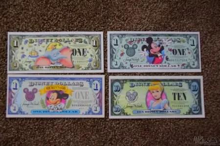 DisneyDollars 3