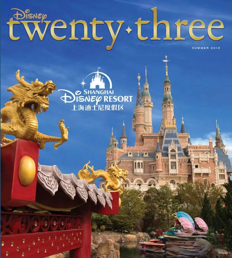 Shanghai Disneyland D23