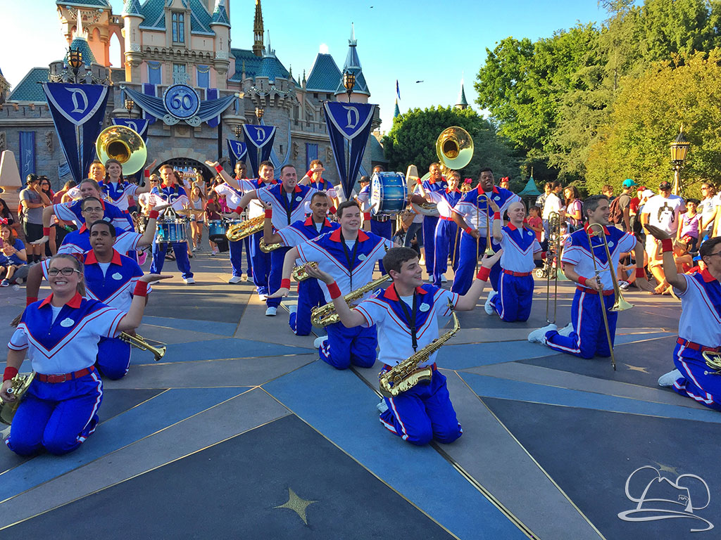 Disneyland Resort All-American College Band - Sleeping Beauty Castle