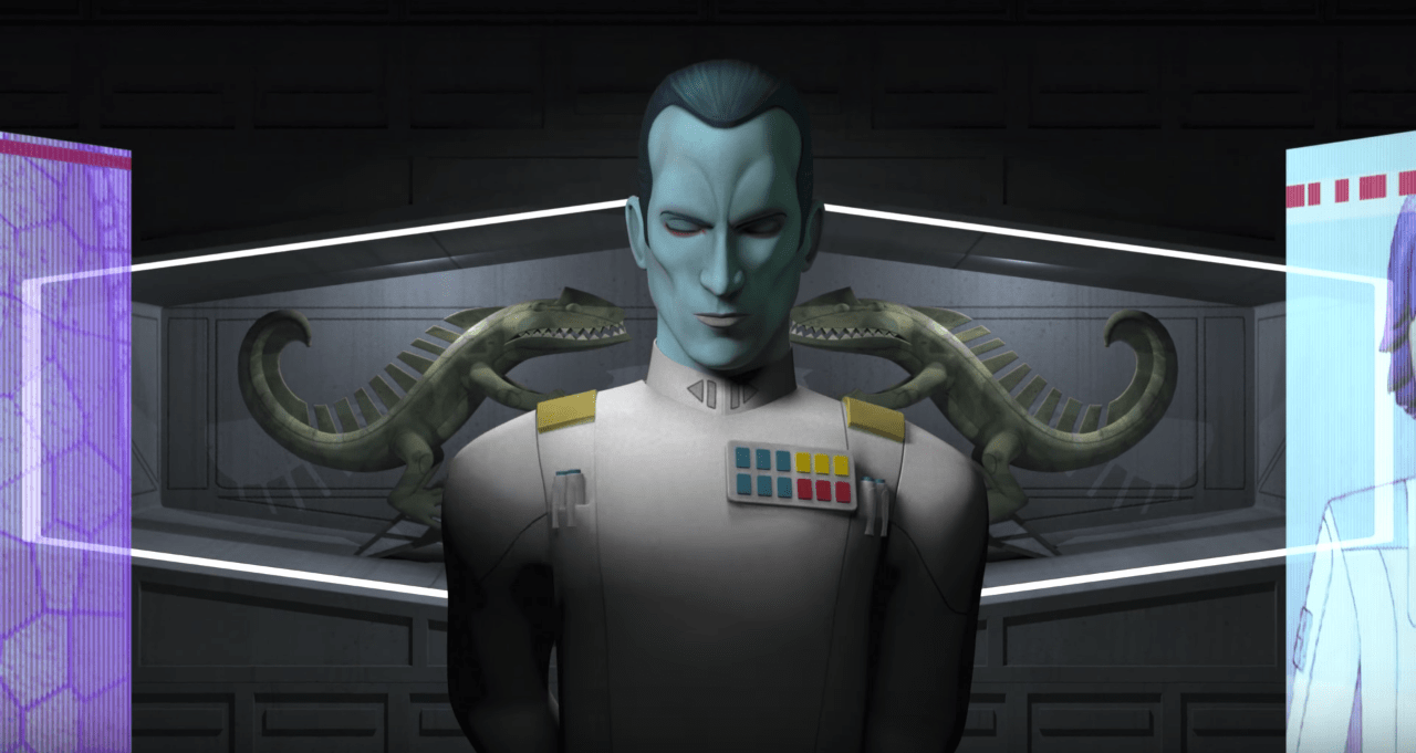 Grand Admiral Thrawn - Star Wars Rebels Season Three