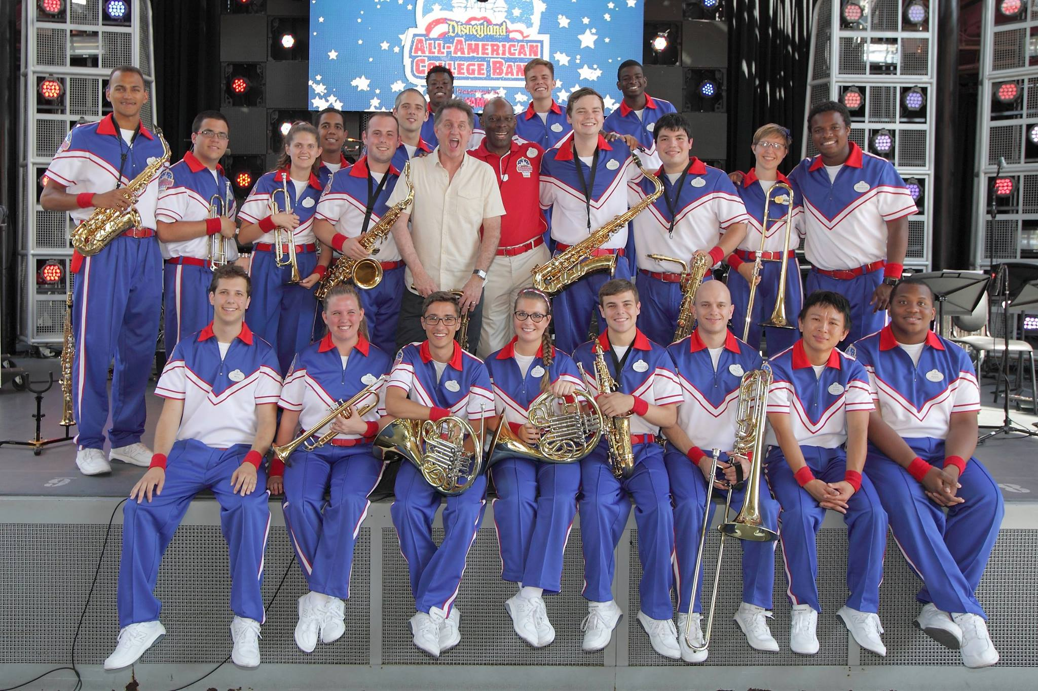 Gordon Goodwin and the Disneyland Resort 2016 All-American College Band
