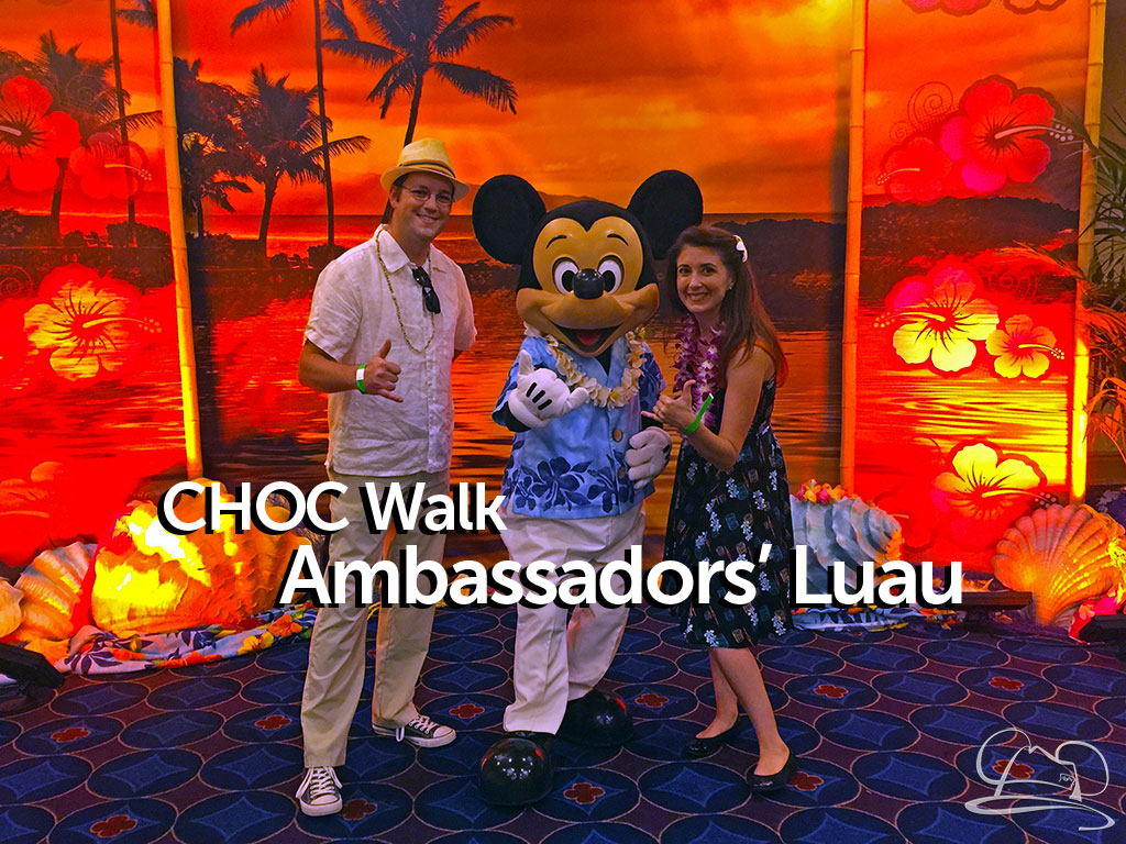 CHOC Walk Ambassadors' Luau