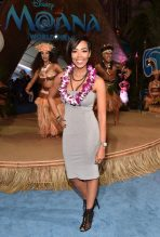"""HOLLYWOOD, CA - NOVEMBER 14: Actress Jazmyn Simon attends The World Premiere of Disney's """"MOANA"""" at the El Capitan Theatre on Monday, November 14, 2016 in Hollywood, CA. (Photo by Alberto E. Rodriguez/Getty Images for Disney) *** Local Caption *** Jazmyn Simon"""