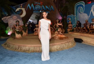 "HOLLYWOOD, CA - NOVEMBER 14: Actress Nicole Scherzinger attends The World Premiere of Disney's ""MOANA"" at the El Capitan Theatre on Monday, November 14, 2016 in Hollywood, CA. (Photo by Alberto E. Rodriguez/Getty Images for Disney) *** Local Caption *** Nicole Scherzinger"