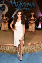 "HOLLYWOOD, CA - NOVEMBER 14: Actress Madison Pettis attends The World Premiere of Disney's ""MOANA"" at the El Capitan Theatre on Monday, November 14, 2016 in Hollywood, CA. (Photo by Alberto E. Rodriguez/Getty Images for Disney) *** Local Caption *** Madison Pettis"