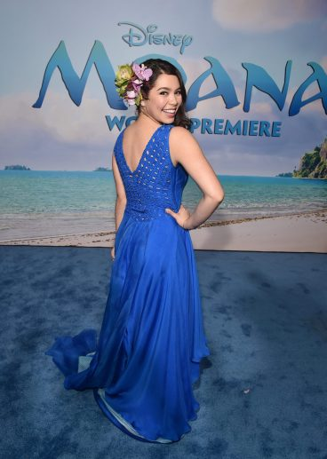 "HOLLYWOOD, CA - NOVEMBER 14: Actress Auli'i Cravalho attends The World Premiere of Disney's ""MOANA"" at the El Capitan Theatre on Monday, November 14, 2016 in Hollywood, CA. (Photo by Alberto E. Rodriguez/Getty Images for Disney) *** Local Caption *** Auli'i Cravalho"