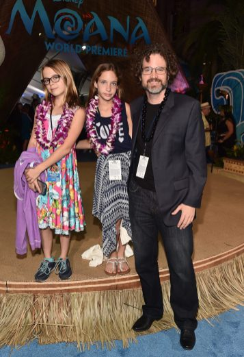 """HOLLYWOOD, CA - NOVEMBER 14: Journalist Borys Kit (R) and guests attend The World Premiere of Disney's """"MOANA"""" at the El Capitan Theatre on Monday, November 14, 2016 in Hollywood, CA. (Photo by Alberto E. Rodriguez/Getty Images for Disney) *** Local Caption *** Borys Kit"""