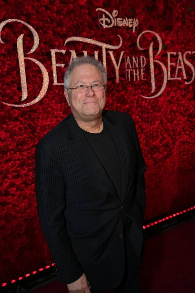 """Alan Menken arrives for the world premiere of Disney's live-action """"Beauty and the Beast"""" at the El Capitan Theatre in Hollywood as the cast and filmmakers continue their worldwide publicity tour. (Photo: Alex J. Berliner/ABImages)"""