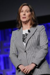ORLANDO, FL - APRIL 13: Kathleen Kennedy attends the 40 YEARS OF STAR WARS PANEL during the 2017 STAR WARS CELEBRATION at Orange County Convention Center on April 13, 2017 in Orlando, Florida. (Photo by Gerardo Mora/Getty Images for Disney) *** Local Caption *** Kathleen Kennedy