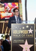 HOLLYWOOD, CA - APRIL 21: Writer/director James Gunn at the Chris Pratt Walk Of Fame Star Ceremony on April 21, 2017 in Hollywood, California. (Photo by Jesse Grant/Getty Images for Disney) *** Local Caption *** James Gunn