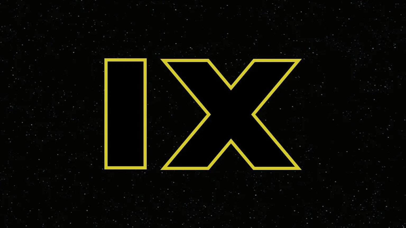 Star Wars Episode IX Logo