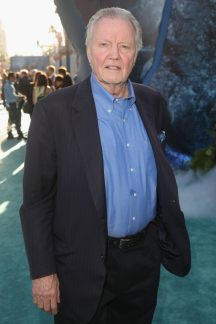"""HOLLYWOOD, CA - MAY 18: Actor Jon Voight at the Premiere of Disney's and Jerry Bruckheimer Films' """"Pirates of the Caribbean: Dead Men Tell No Tales,"""" at the Dolby Theatre in Hollywood, CA with Johnny Depp as the one-and-only Captain Jack in a rollicking new tale of the high seas infused with the elements of fantasy, humor and action that have resulted in an international phenomenon for the past 13 years. May 18, 2017 in Hollywood, California. (Photo by Jesse Grant/Getty Images for Disney) *** Local Caption *** Jon Voight"""