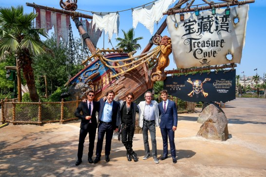 Pirates of the Caribbean: Dead Men Tell No Tales - Shanghai Disney World Premiere