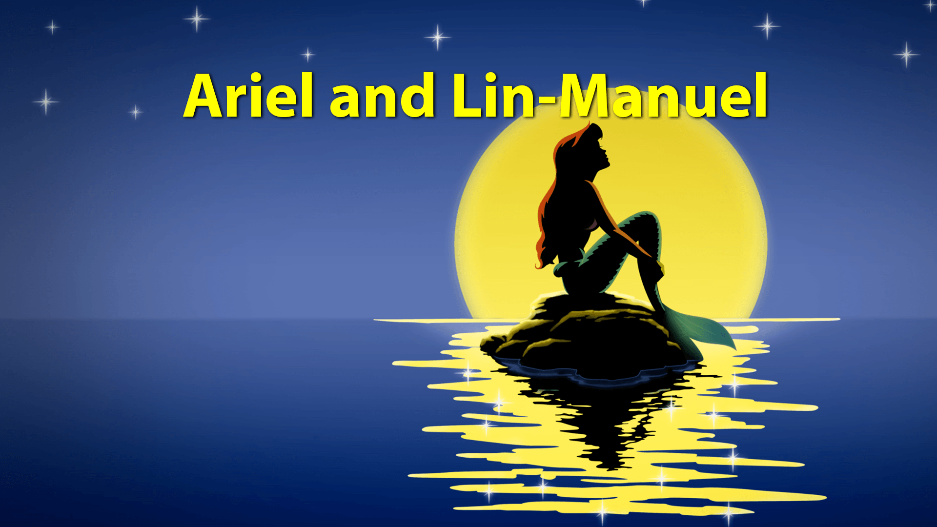 Ariel and Lin-Manuel - Geeks Corner - Episode 634