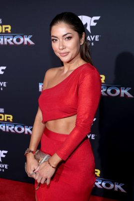 """HOLLYWOOD, CA - OCTOBER 10: Arianny Celeste at The World Premiere of Marvel Studios' """"Thor: Ragnarok"""" at the El Capitan Theatre on October 10, 2017 in Hollywood, California. (Photo by Rich Polk/Getty Images for Disney) *** Local Caption *** Arianny Celeste"""