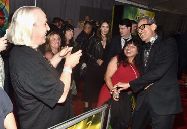 """HOLLYWOOD, CA - OCTOBER 10: Actor Jeff Goldblum at The World Premiere of Marvel Studios' """"Thor: Ragnarok"""" at the El Capitan Theatre on October 10, 2017 in Hollywood, California. (Photo by Alberto E. Rodriguez/Getty Images for Disney) *** Local Caption *** Jeff Goldblum"""