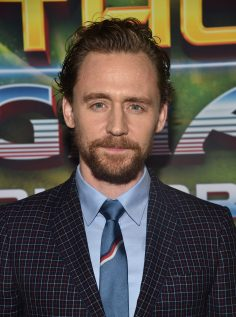 """HOLLYWOOD, CA - OCTOBER 10: Actor Tom Hiddleston at The World Premiere of Marvel Studios' """"Thor: Ragnarok"""" at the El Capitan Theatre on October 10, 2017 in Hollywood, California. (Photo by Alberto E. Rodriguez/Getty Images for Disney) *** Local Caption *** Tom Hiddleston"""
