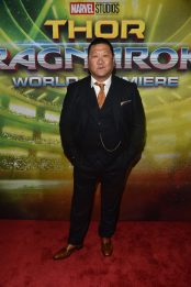 """HOLLYWOOD, CA - OCTOBER 10: Actor Benedict Wong at The World Premiere of Marvel Studios' """"Thor: Ragnarok"""" at the El Capitan Theatre on October 10, 2017 in Hollywood, California. (Photo by Alberto E. Rodriguez/Getty Images for Disney) *** Local Caption *** Benedict Wong"""