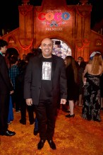 """HOLLYWOOD, CA - NOVEMBER 08: Actor Herbert Siguenza at the U.S. Premiere of Disney-Pixarís """"Coco"""" at the El Capitan Theatre on November 8, 2017, in Hollywood, California. (Photo by Alberto E. Rodriguez/Getty Images for Disney) *** Local Caption *** Herbert Siguenza"""