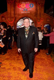 """HOLLYWOOD, CA - NOVEMBER 08: Executive producer John Lasseter at the U.S. Premiere of Disney-Pixarís """"Coco"""" at the El Capitan Theatre on November 8, 2017, in Hollywood, California. (Photo by Alberto E. Rodriguez/Getty Images for Disney) *** Local Caption *** John Lasseter"""