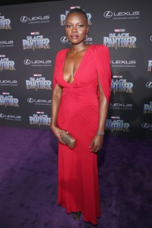 HOLLYWOOD, CA - JANUARY 29: Actor Shaunette Renee Wilson at the Los Angeles World Premiere of Marvel Studios' BLACK PANTHER at Dolby Theatre on January 29, 2018 in Hollywood, California. (Photo by Jesse Grant/Getty Images for Disney) *** Local Caption *** Shaunette Renee Wilson